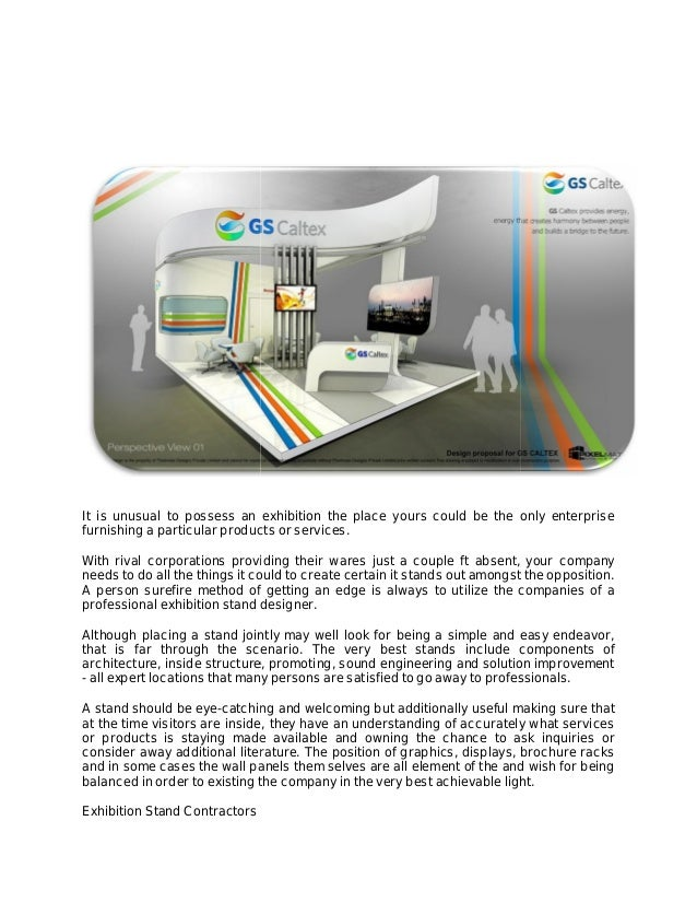 Exhibition Stand Contractors : Exhibition stand builders london