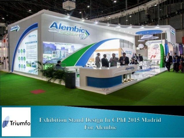 Excellent Exhibition Stand Design : Exhibition stand design in cphi madrid for alembic