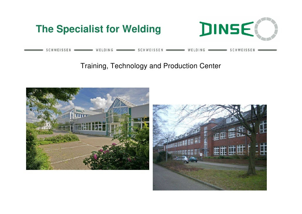 The Specialist for Welding         Training, Technology and Production Center