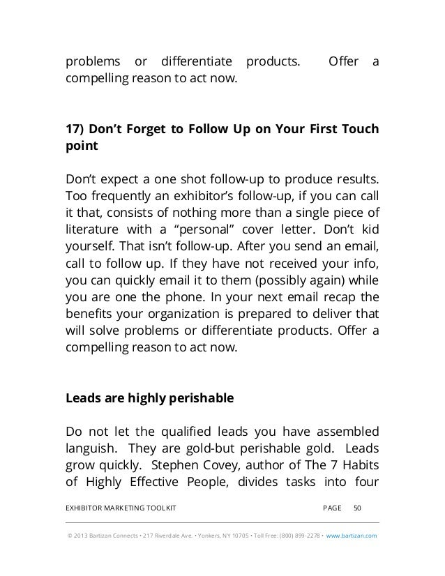 2014 Exhibitor Marketing Toolkit Includes: Guidelines, Email Template…