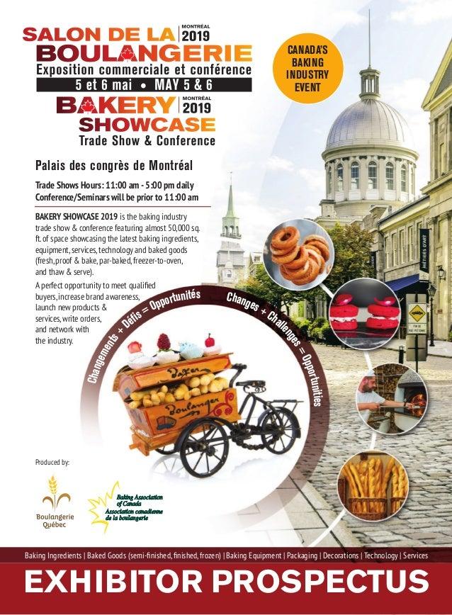 Bakery Trade Shows 2019