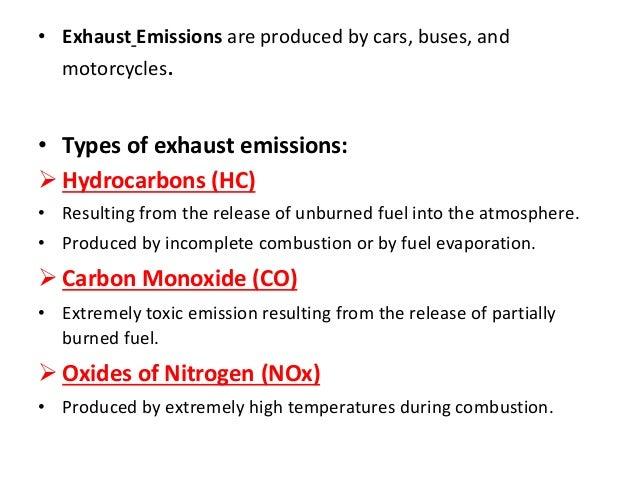 Exhuast emission reduce system in petrol and diesel engine car