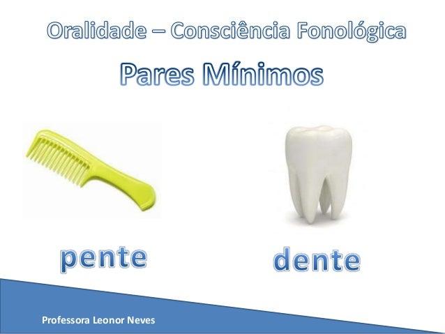 Exibição   pares mínimos - fonética Slide 3
