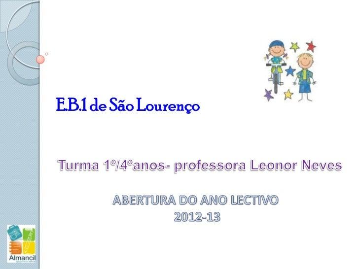 E.B.1 de São Lourenço