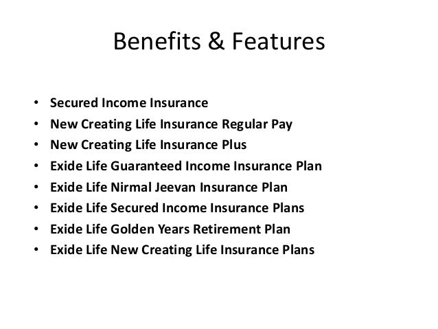 Exide Life Insurance - Choose your Best Plans Online
