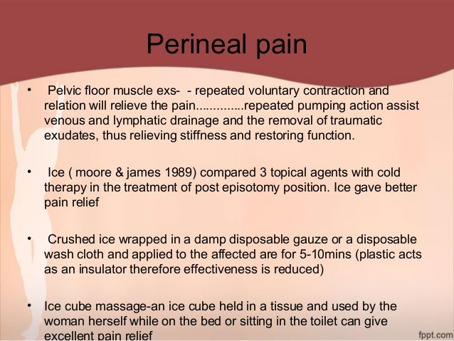 perineal pain female causes
