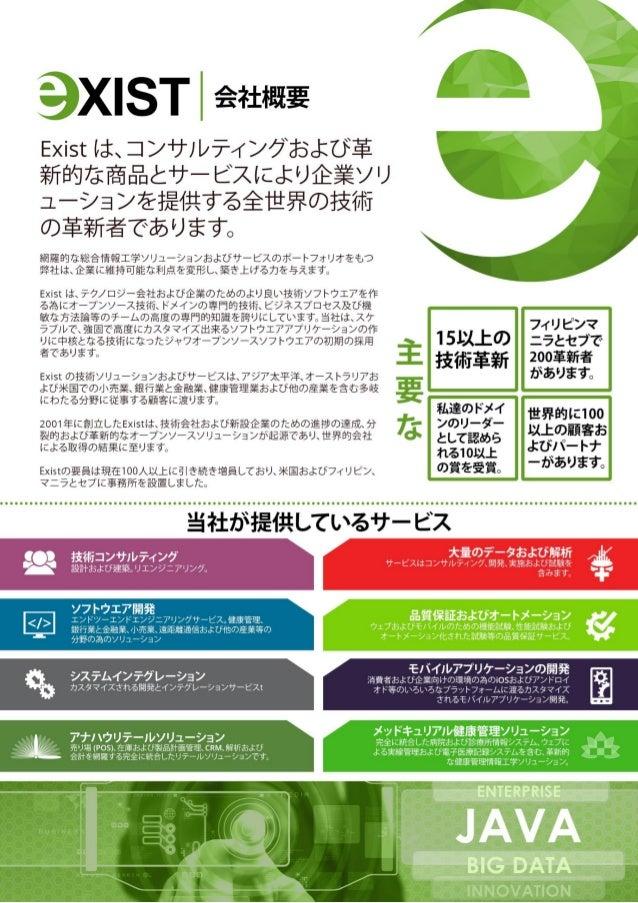 Exist Company Profile (Nihongo)