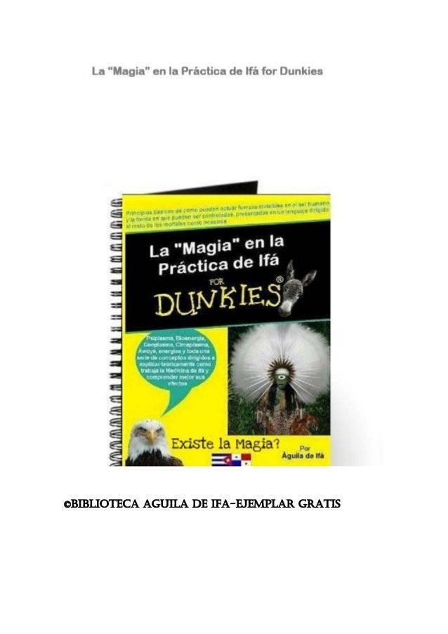 ©BIBLIOTECA AGUILA DE IFA-EJEMPLAR GRATIS