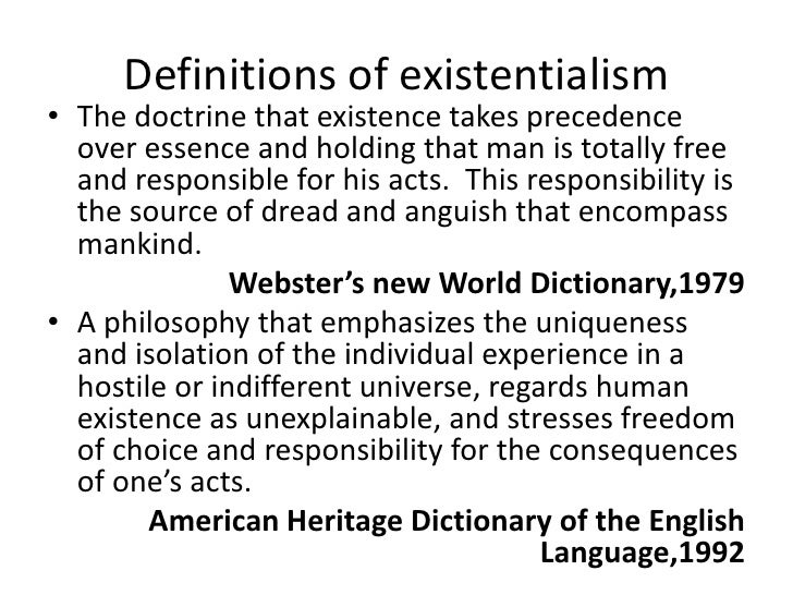 victorianism and existentialism essay