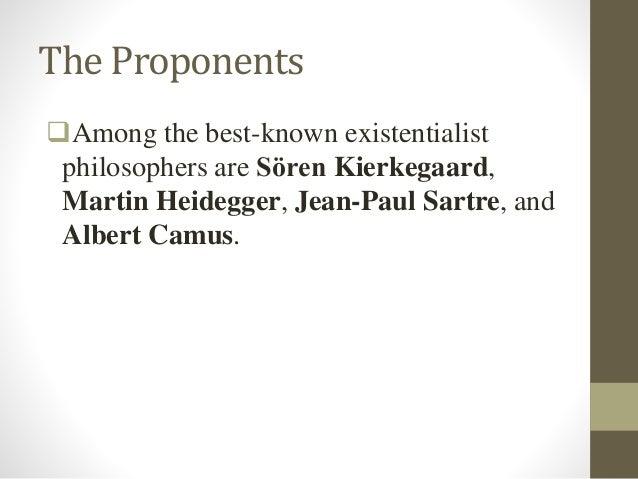 Existentialism: From Kierkegaard to Sartre