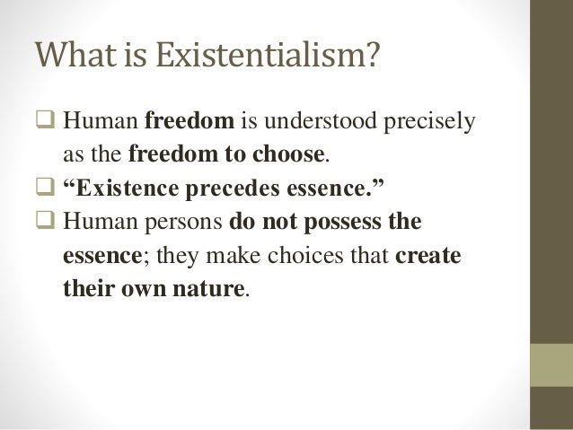 Philosophy of Education: Existentialism