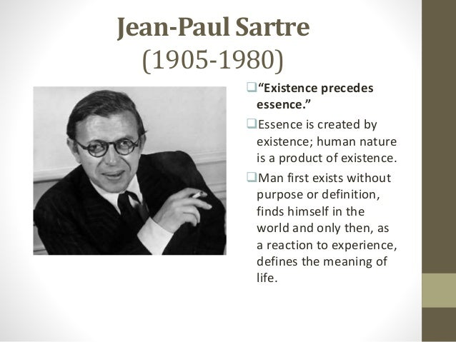 sartre essays in existentialism summary In your essay, write about how each of these authors contributed to existentialism by writing fiction or drama describe the unique ways literary writing can move philosophy forward.