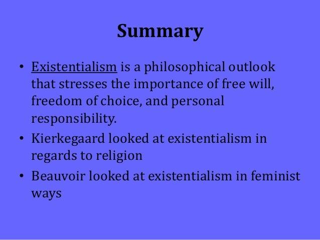 kierkegaard existentialism summary