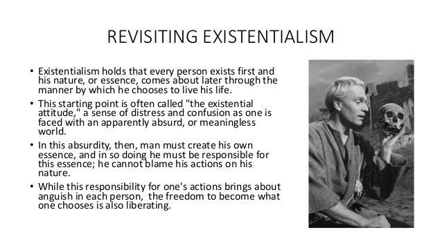 existentialism in hamlet