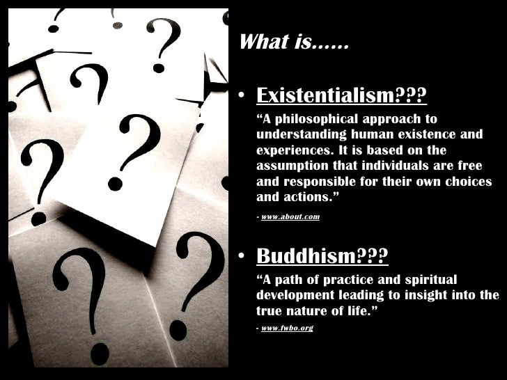 """understanding existentialism Understanding the difference between existentialism and essentialism essentialism is the idea that everything has an essence (something that """"makes it, it""""."""