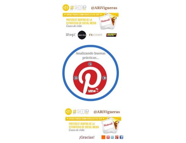 Exito pinterest. Caso Casa Viva. Social Media Point