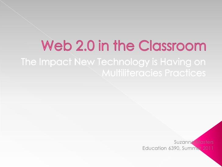 Suzanne MastersEducation 6390, Summer 2011