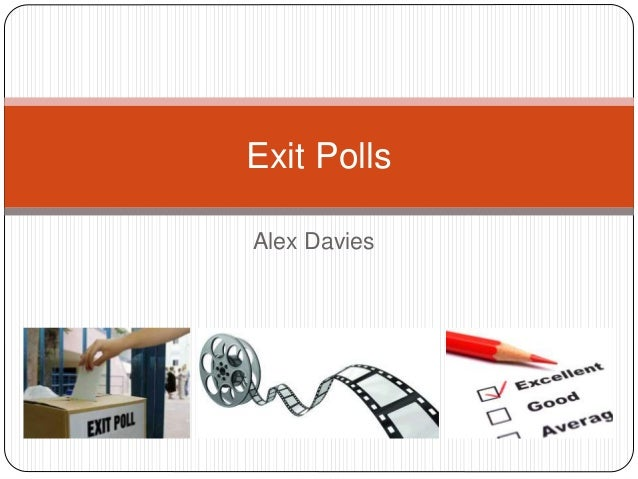 Alex Davies Exit Polls