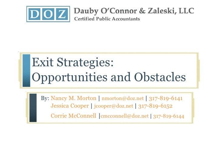 Lihtc Exit Strategies