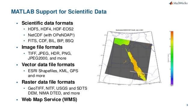 Data Analytics using MATLAB and HDF5