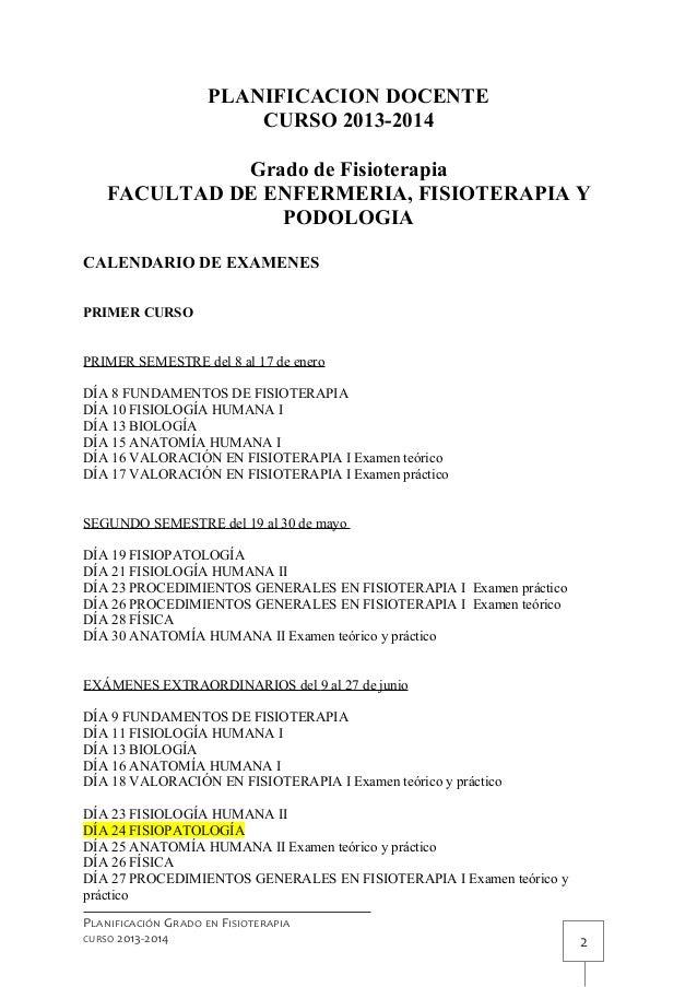 Exámenes con cambios 19 junio