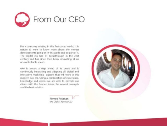 eXo Digital Agency - Company Profile