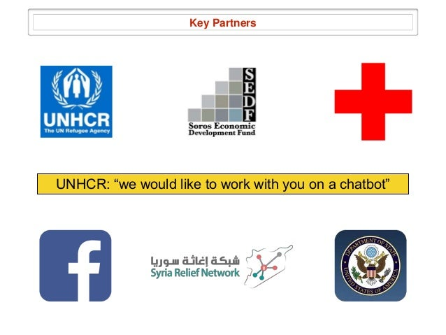 Next steps hand in hand with UNHCR Continue building the technology Give it to more refugees Stay LEAN