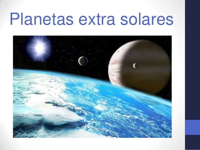 Planetas extra solares