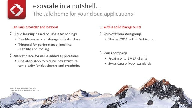 Cloud Computing Security Frameworks - our view from exoscale Slide 3