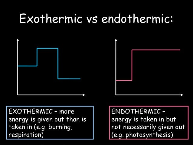 Is photosynthesis an endothermic or exothermic reaction