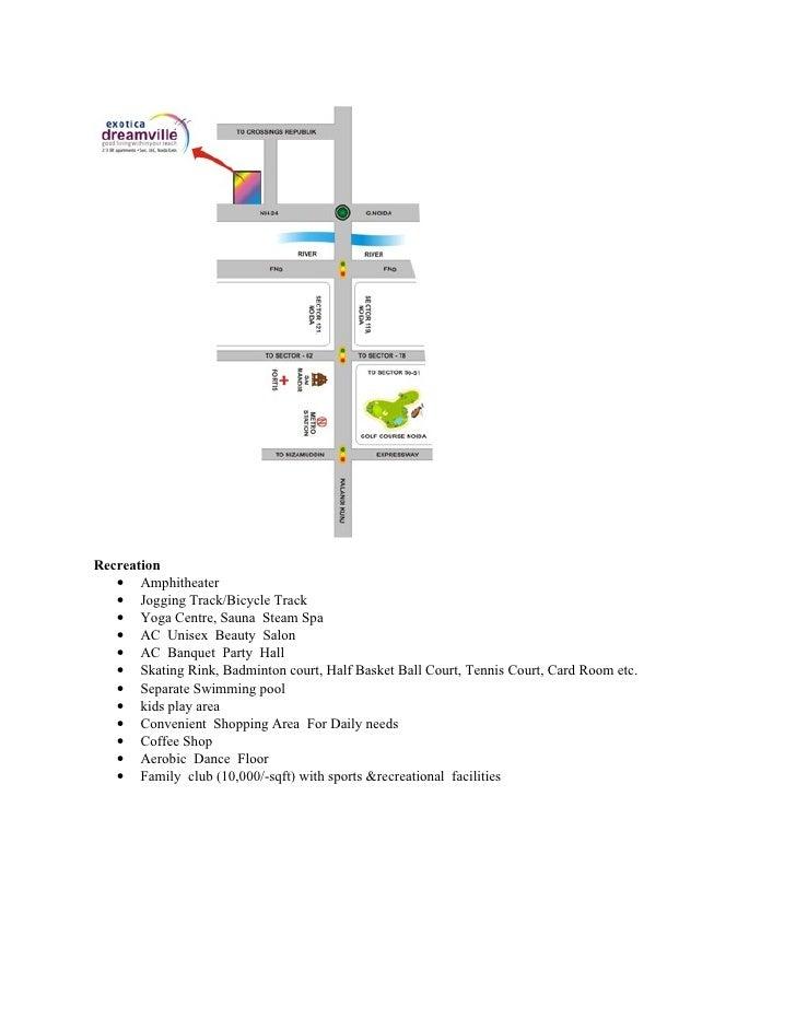 Exotica Dreamville Noida | 9999748000 Slide 2
