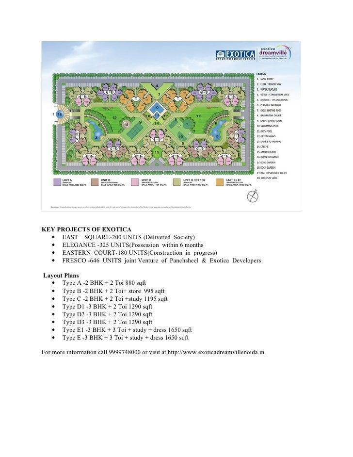 Exotica Dreamville Noida | 9999748000 Slide 3