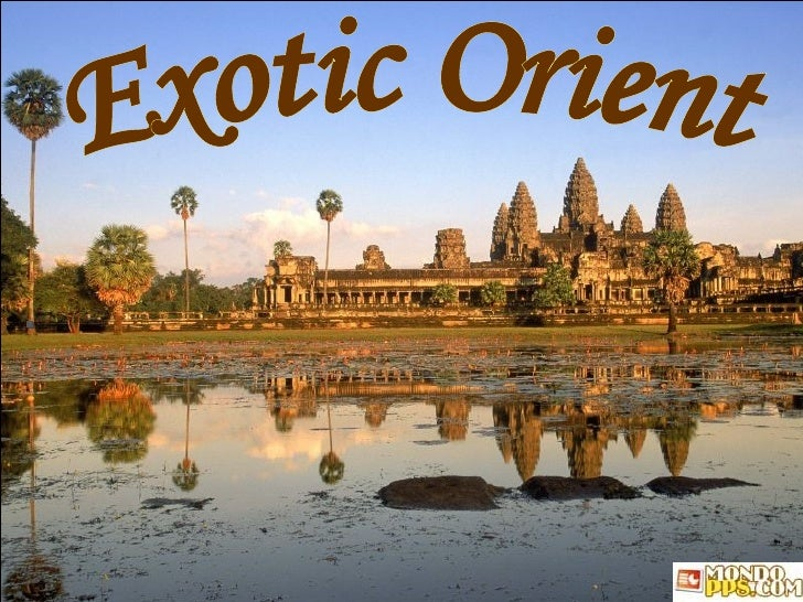 Angkor Wat at Sunset, Cambodia Exotic Orient