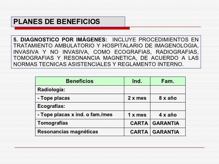 5. DIAGNOSTICO POR IMÁGENES:  INCLUYE PROCEDIMIENTOS EN TRATAMIENTO AMBULATORIO Y HOSPITALARIO DE IMAGENOLOGIA, INVASIVA Y...