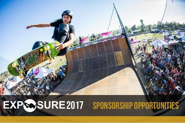 Sponsorship opportunities2017