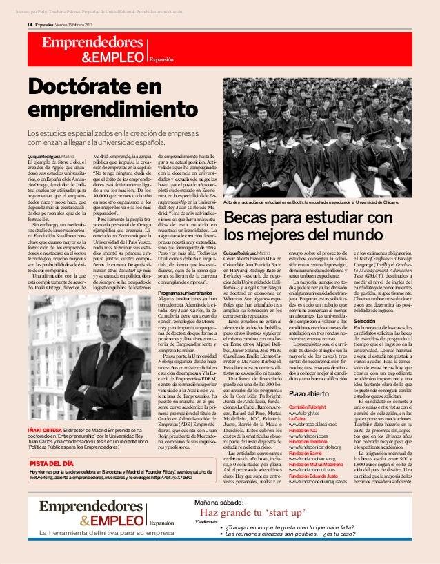 Impreso por Pedro Trucharte Palomo. Propiedad de Unidad Editorial. Prohibida su reproducción.      14 Expansión Viernes 15...