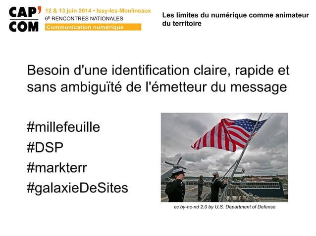 6E  RENCONTRES NATIONALES Besoin d'une identification claire, rapide et sans ambiguïté de l'émetteur du message #millefe...
