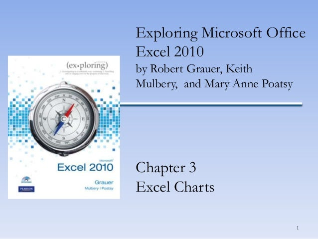 Exploring Microsoft Office Excel 2010 by Robert Grauer, Keith Mulbery, and Mary Anne Poatsy  Chapter 3 Excel Charts 1