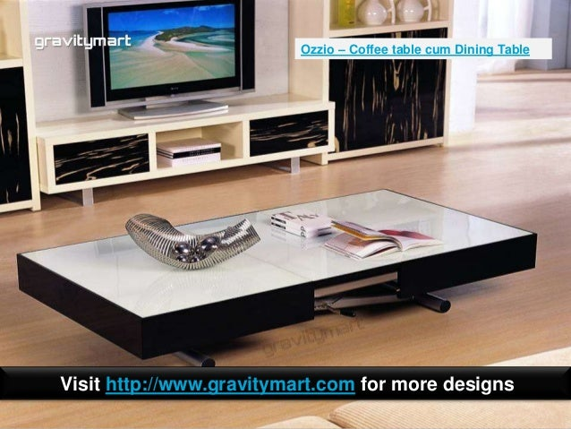 expandable console table. Coffee Table Cum Dining Table; 15. Expandable Console