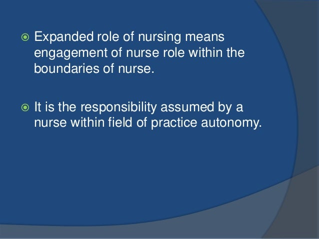 Roles and Function of a Nurse
