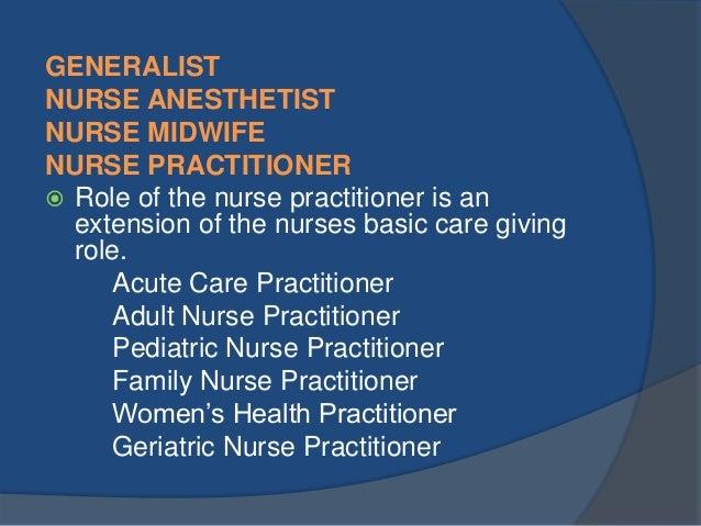 role of a nurse essay