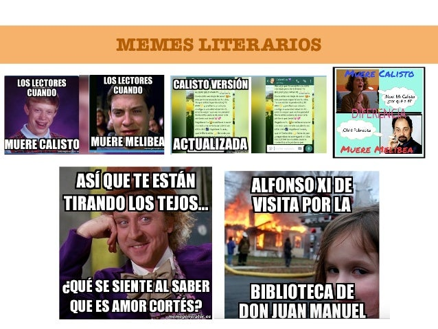 MEMES LITERARIOS