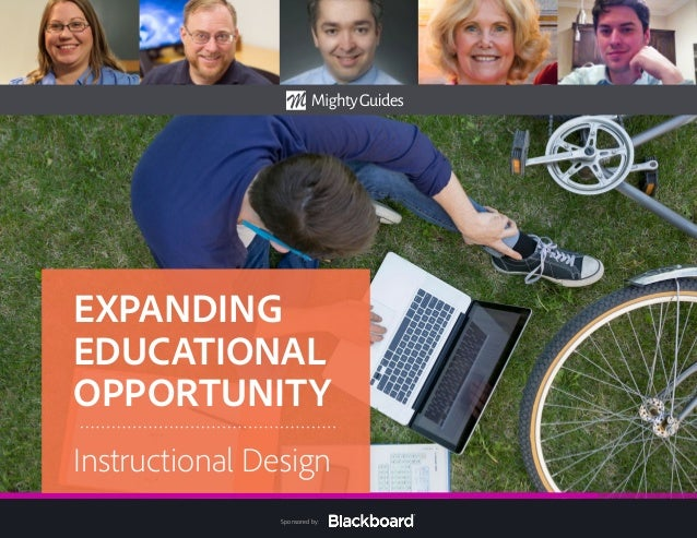 Sponsored by: EXPANDING EDUCATIONAL OPPORTUNITY Instructional Design