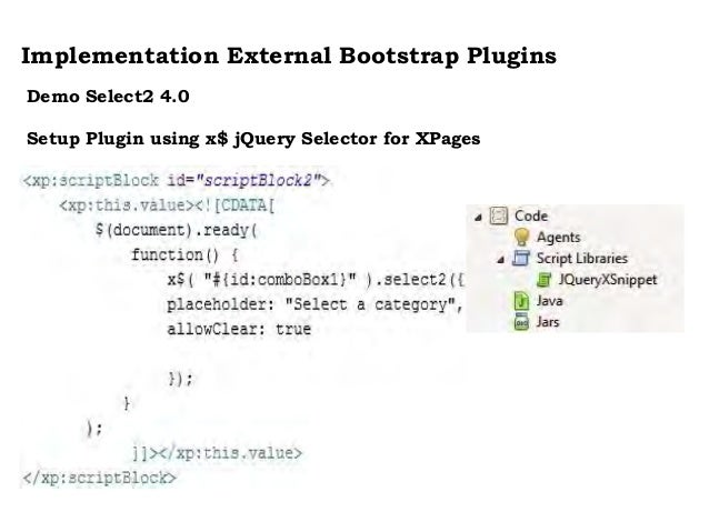 Expanding XPages with Bootstrap Plugins for Ultimate Usability