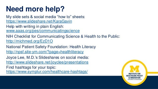 """Need more help? My slide sets & social media """"how to"""" sheets: https://www.slideshare.net/KaraGavin Help with writing in pl..."""