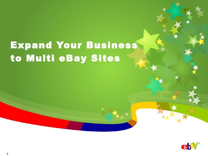 Expand Your Business to Multi eBay Sites