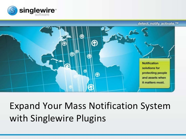 Expand Your Mass Notification System with Singlewire Plugins