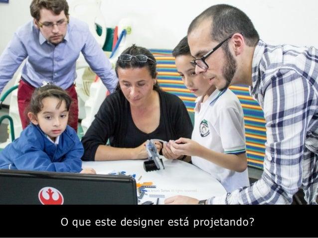 O que este designer está projetando?