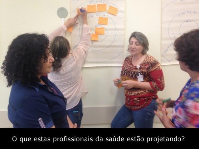 O que estas profissionais da saúde estão projetando?
