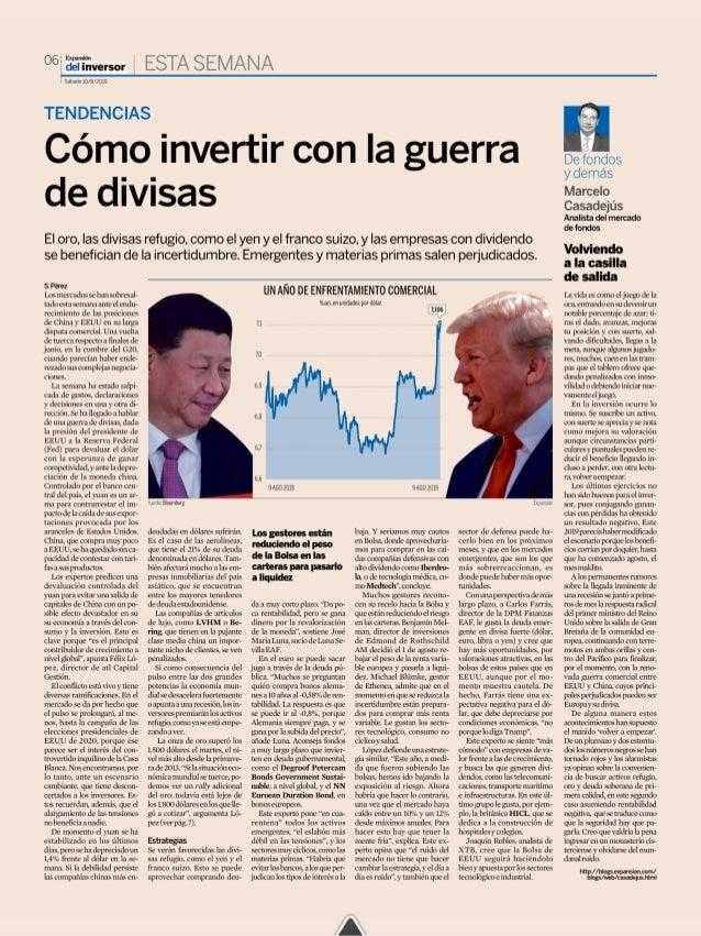 Cómo invertir con la guerra de divisas